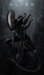 Alien Cover-Xenomorph by Darkraimaster99