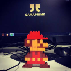 Lego Mario by canyuzgec