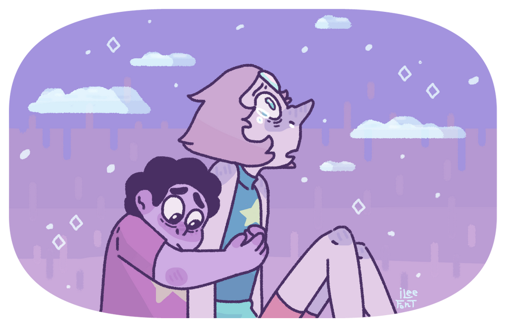 I'll never get over this scene Thank you for the screenshot request!Art ©iLee-Font greg & Pearl © Steven universe Original thefanvoice.com/wp-content/upl…