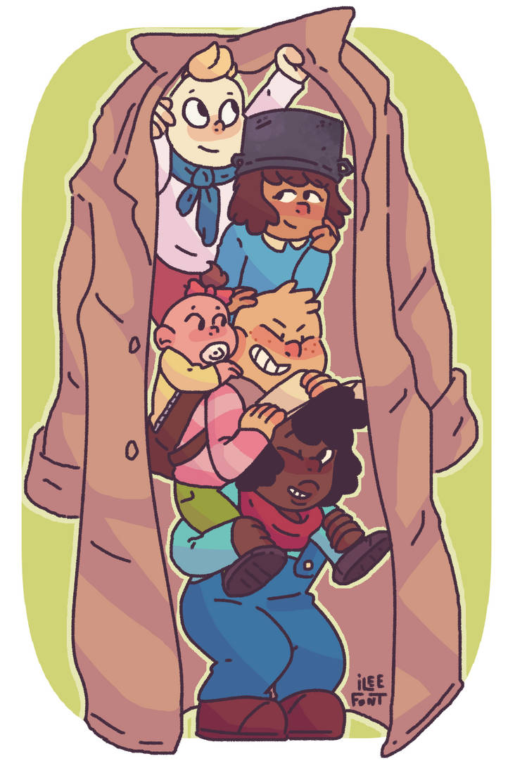 This was a super cute episode and I really loved all of the kids! (especially soup) Art © iLee-Font Onion & characters © Steven universe