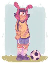 I'm glad Bob's burgers is finally a soccer anime by iLee-Font