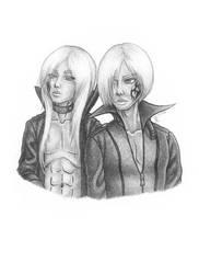 MieAga's Tan Soori Twins by Dibei-Chan