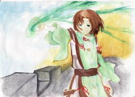 Shining Wind by SierraLatkje