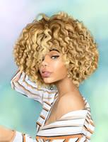 Blondie by MelanoidInk