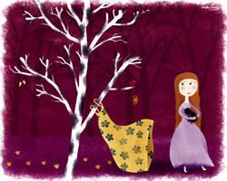 Cinderella, the Russian by nicolas-gouny-art