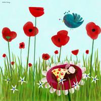 Where the fairies are asleep by nicolas-gouny-art
