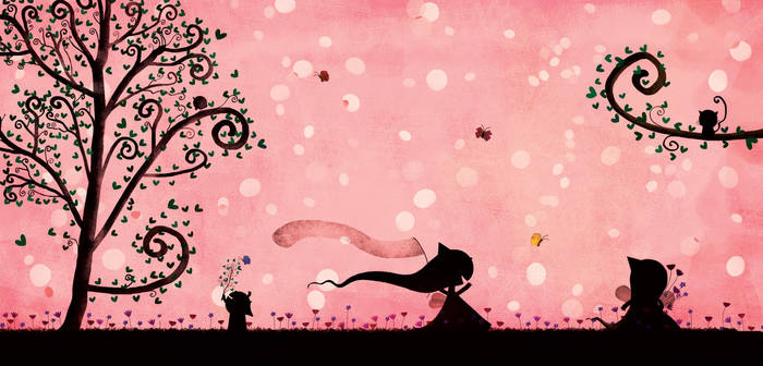The butterflies by nicolas-gouny-art
