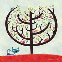 The birds tree by nicolas-gouny-art