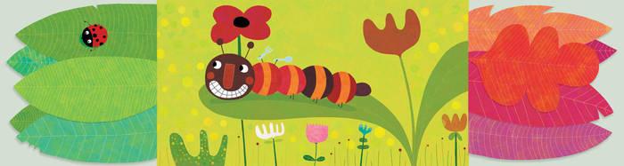 The caterpillar by nicolas-gouny-art
