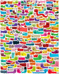 276 cats by nicolas-gouny-art
