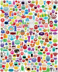 244 monsters... by nicolas-gouny-art