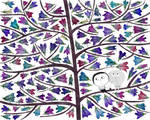 Flowerbirds by nicolas-gouny-art