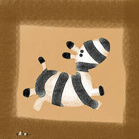 the scottish zebra by nicolas-gouny-art