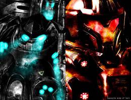 SCII - Opposite Ends of Hell by gigabytemon