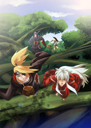 Cover Fanfiction  Inu Dei by Lairam