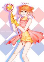 Card Captor Sakura Print + Timelapse by azureliqhts