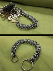 Chainmail Keyring Holder by DataByteBrony