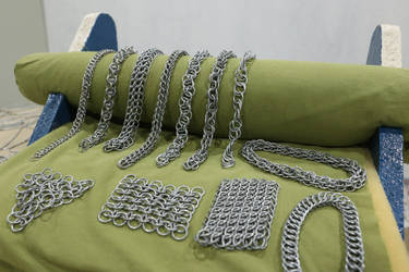 Simple Chainmail Bracelets by DataByteBrony