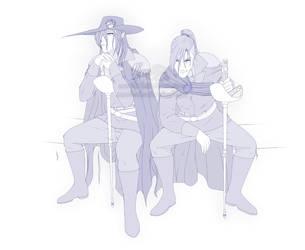 The Bounty Hunters - InkoTber piece 6 by Mandi-Cakes81