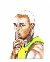 Usain Bolt by dragonaki