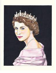 The Queen by dragonaki