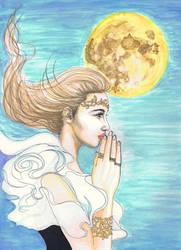 A PRAYER by dragonaki