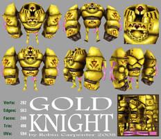 Gold Knight by Randommonkies