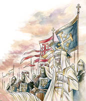 Baldwin IV, the Leper King of Jerusalem by NikosBoukouvalas