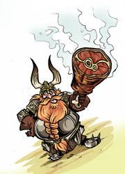 Dwarf - Ripe meat off the bone by NikosBoukouvalas