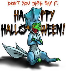 Lol Halloween a bit late by Pokemontrainergigi