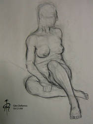Life Drawing II 10.09 by quar4erlife