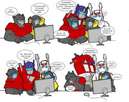Transformers discover 4chan by batchix