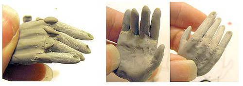 Hand Sculpting tutorial 4 BJDs by batchix
