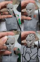 Turian BJD head by batchix