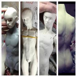 New Boy Progression by batchix