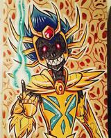 Cancer - Deathmask by gravetown