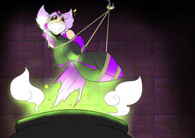 Pleiades: presenting Sterope the poison witch 3 by GreenLeona