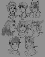 {P-K} headshots galore by moesbii