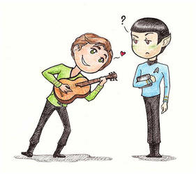 Be my Vulcan lover by Noldo-Painter