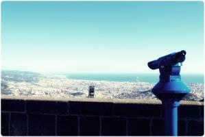 Barcelona landscape 2 by evildogz
