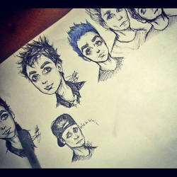 green day cartoons by shmittie