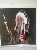 Native Elder  by MigiziiMother