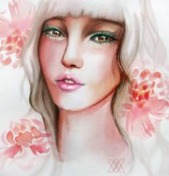 Talk-Through - Creating a stylised portrait by Abigail-Scott