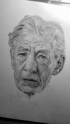 Ian McKellen by dubbak