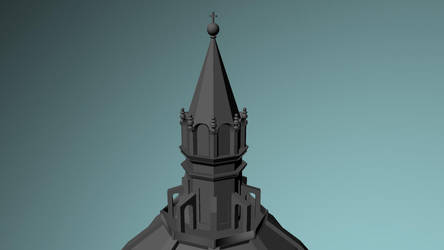 Santa Maria del Fiore detail 2 by xMrGreenTeax