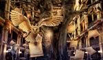 Hall Of Owls by Cleo-Bizarre