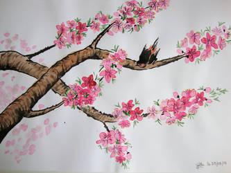 essai de peinture chinoise by jojo-lifia