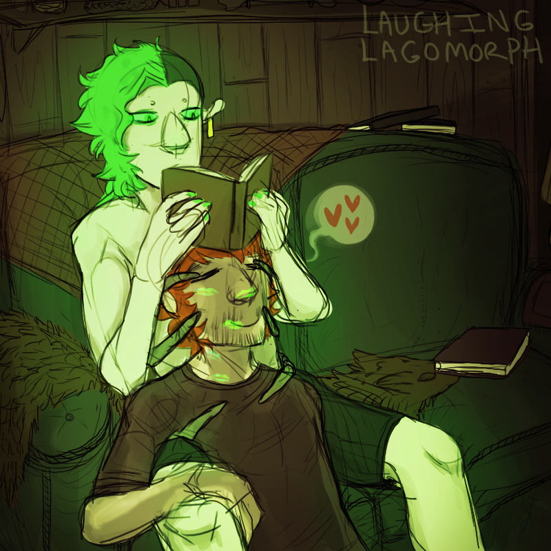 Cal and Lonesome by Laughing-Lagomorph