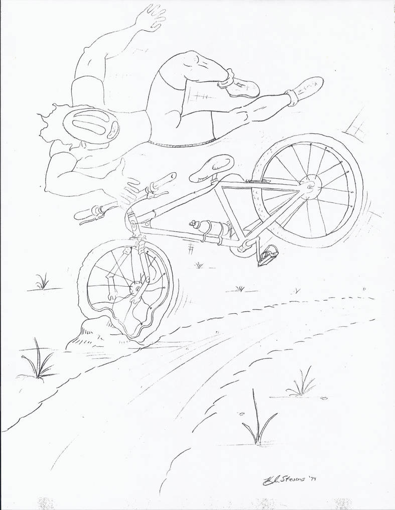Bike-wreck by PsyborgFactory