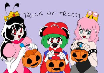 A Casa de Lenna Halloween by MekkMarcos
